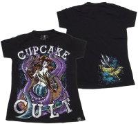 Girl Shirt Comicmotiv Evil Clothing Cupcake Cult