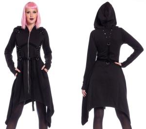 Gothicmantel Mistrust Hood Poizen Industries