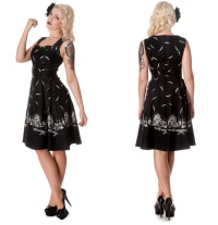 Rockabilly Kleid Gothic Hellbunny