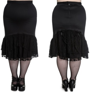 Pencil Skirt Celeste Hellbunny Plussize