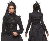 Gothicjacke Victorian Steampunk Damenjacke Spin Doctor