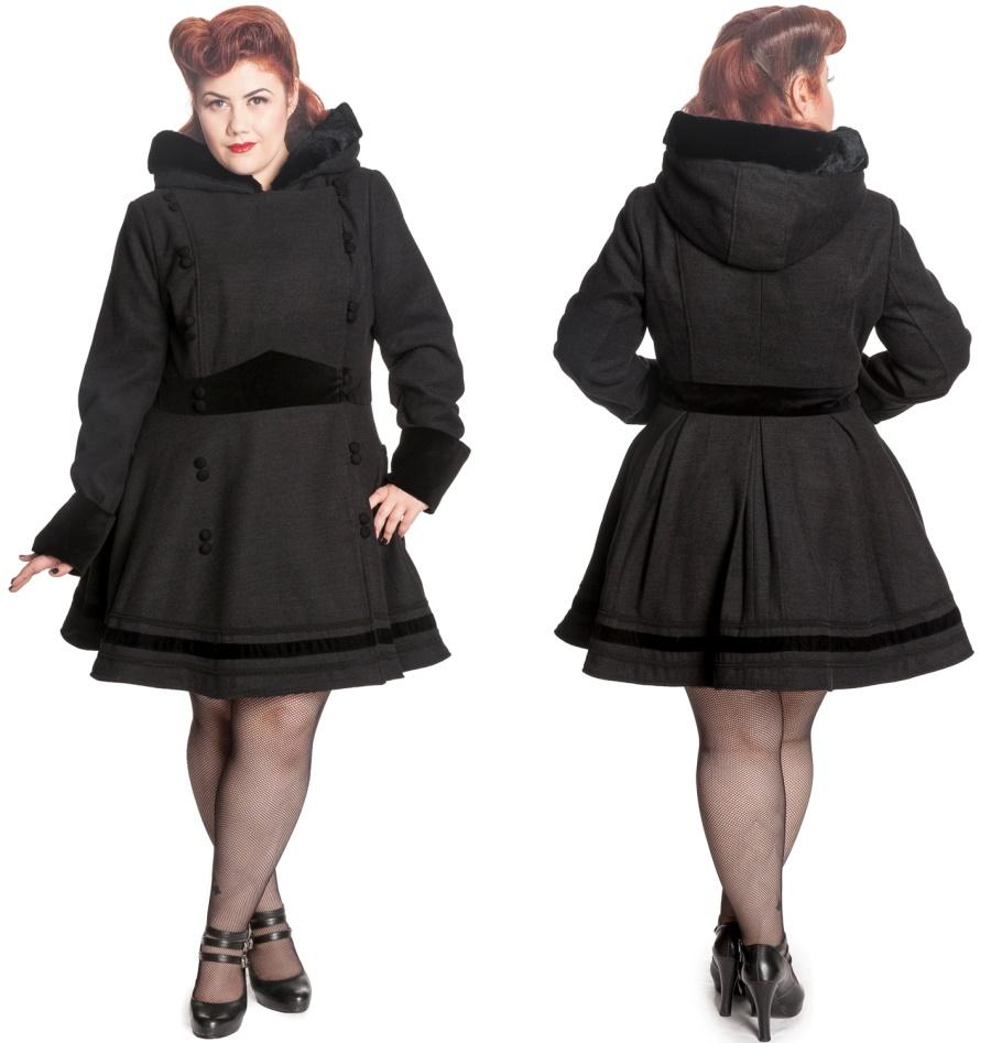 Sofia Coat Hellbunny Plussize