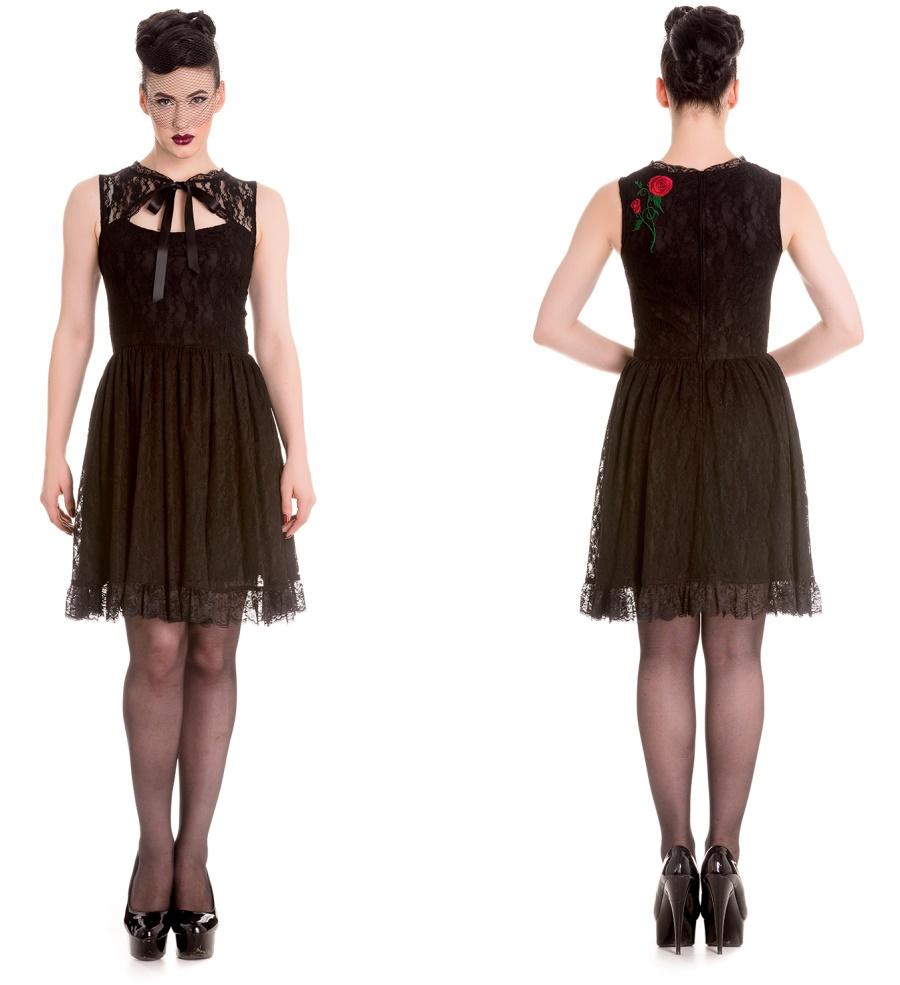 Kleid Spitze Hellbunny