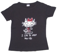 Girl Tshirt I like to make Boys Cry