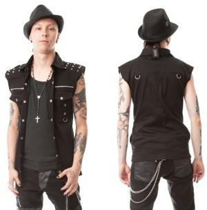 Nietenweste/Nietenhemd Ronnie Vixxsin