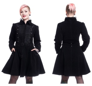 Rozalina Coat Uniformmantel Damen Poizen Industries