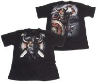 Tshirt Viking Undead Spiral