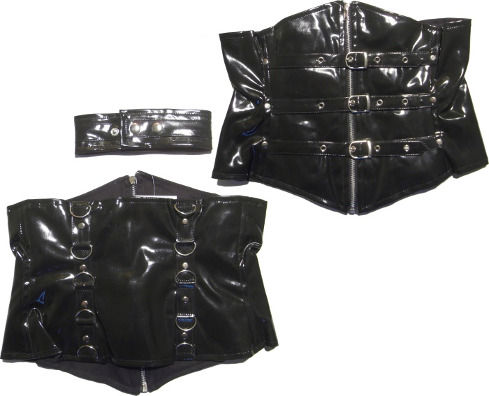 Unterbrustkorsage Submission Evil Clothing Poizen Industries