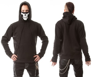 Vanish Hood Heartless/Kapuzenpulli Skelettmaske