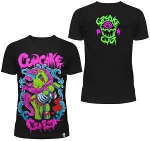 Zombie Pony Tshirt Cupcake Cult