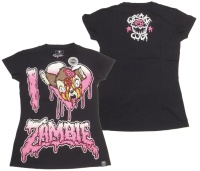 Girl Shirt Zombie Bambie Cupcake Cult Evil Clothing