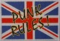 Aufnäher Punk Rules