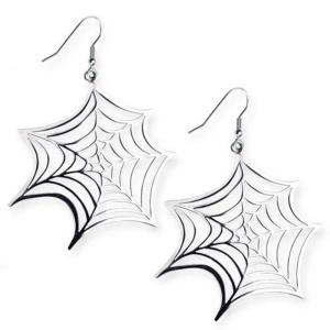 Gothicschmuck Ohringe Spider Web