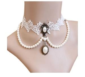 Halskette Pentagramme