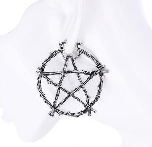 Ohrring Pentagramm