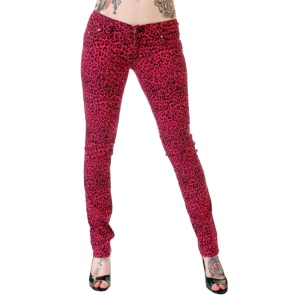 Stretchjeans Leopink Poizen Industries