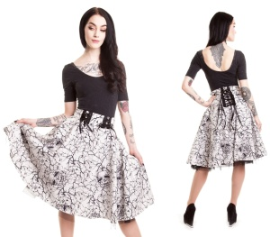 Aurora Skirt Vixxsin Tellerrock Rockabilly Rock