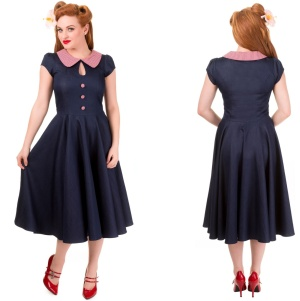 Blueberry Hill Dress Rock n Roll Kleid Banned
