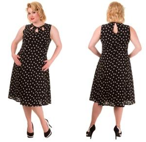 Songbird Dress Rockabilly Kleid Plussize Banned