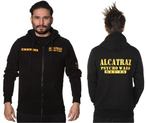 Hoodie Alcatraz Alternative Wear Banned