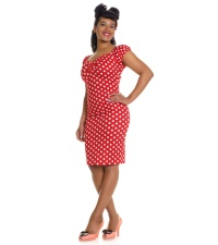 Pencil Dress/Bleistiftkleid Dolores Collectif Rockabilly
