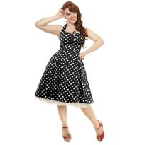 Petticoatkleid/Rock n Roll Kleid Joana Collectif Plussize