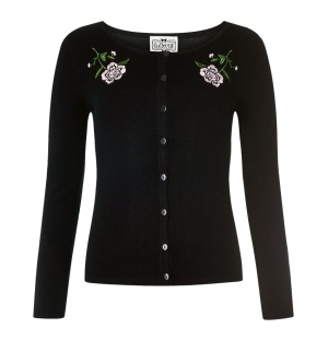 Cardigan Rose Collectif