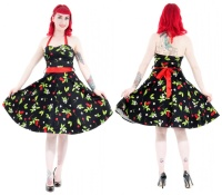 Rock n Roll Kleid Kirschen Plussize H&R London
