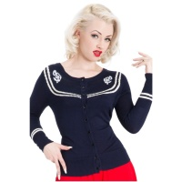 Cardigan Sailor Voodoo Vixen
