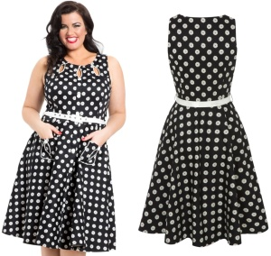 Rock N Roll Kleid Voodoo Vixen Plussize Rockabilly Rockabel