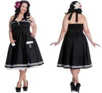 Motley 50 s Dress/Rock n Roll Kleid Übergrösse Hellbunny