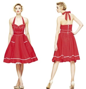 Petticoatkleid/Rock n Roll Kleid/ Hellbunny Boogie Dress