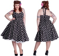 Rock N Roll Kleid Plussize Hellbunny Rockabilly Boogie