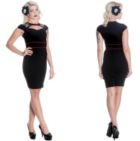 Pencil Kleid Sugar Hellbunny