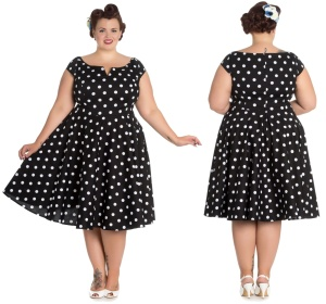 Nicky Dress Rockn Roll Kleid Rockabilly Kleid Hellbunny Plus