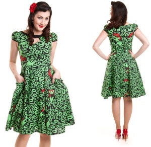 Petticoatkleid Poison Ivy