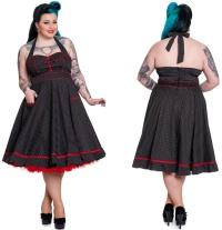 Rockabilly Kleid Vanity Hellbunny Übergrösse