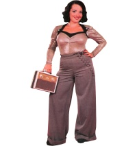 Swing Trouser 40iger Jahre Miss Candyfloss