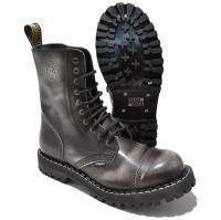 Steel 10 Loch Boots