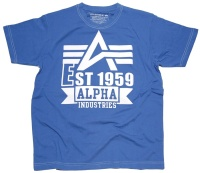 Alpha Industries T-Shirt White Print