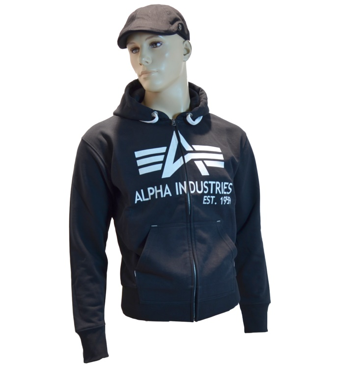 Alpha Industries Kapuzenjacke Big A Classic