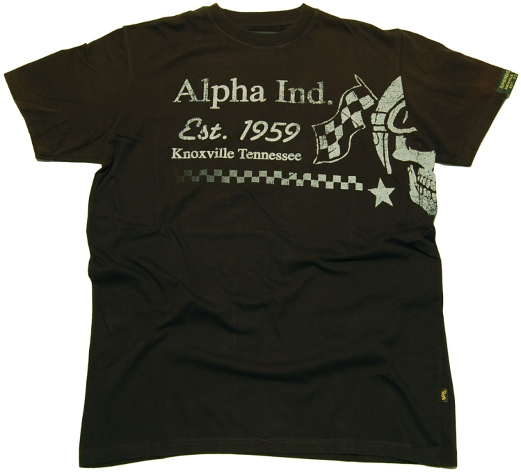 Alpha Industries T-Shirt Race Skull