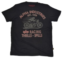 Alpha Industries T-Shirt Racing Thrills