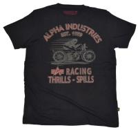 Alpha Industries T-Shirt Racing Thrills