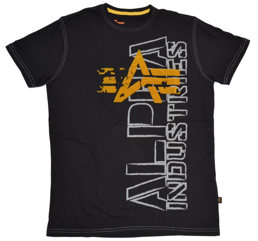 Alpha Industries T-Shirt Big A Flock