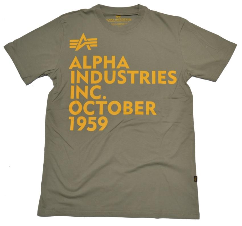 Alpha Industries T-Shirt Basic Print 21