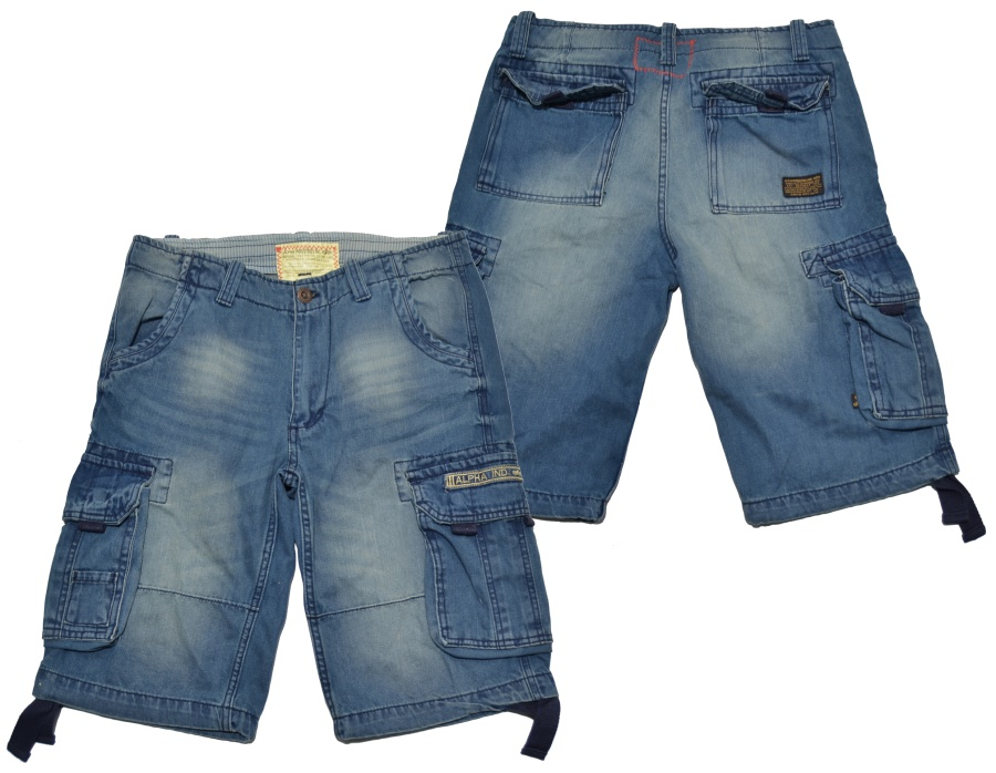 Alpha Industries Short Jet Denim