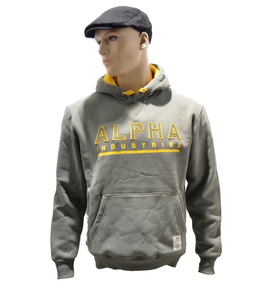 alpha industries kapuzensweatshirt felt alpha industries. Black Bedroom Furniture Sets. Home Design Ideas