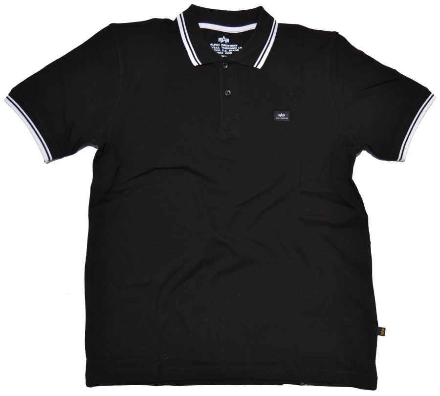 Alpha Industries Polo-Shirt Twin Stripe II