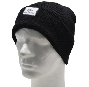 Alpha Industries Strickmütze Beanie X-Fit in schwarz 168905